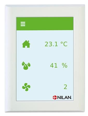Nilan HMI touch panel